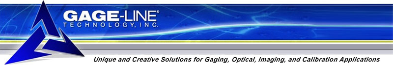 Gage-Line Technology, Inc. - Unique and Creative Solutions for Gaging, Optical, Imaging, Calibration, and Applications